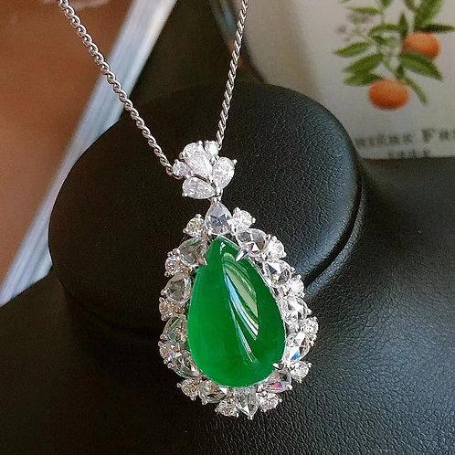 Emerald Pendant 6.5ct