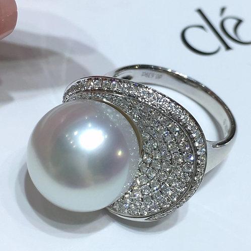 Australian Pearl Ring 13-14mm