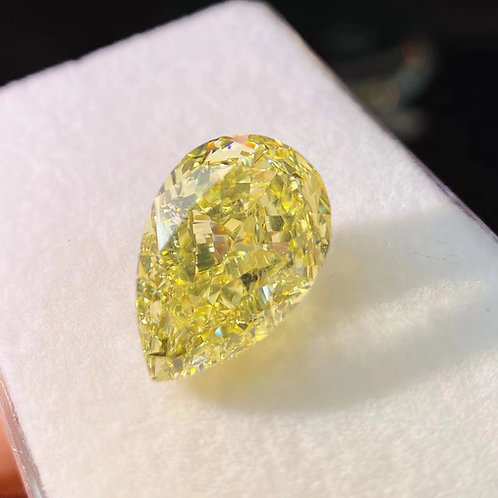 (Ask Price) Fancy Yellow Diamond Stone 12.05ct