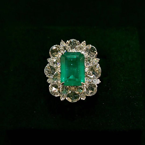 Emerald Ring 4.0ct