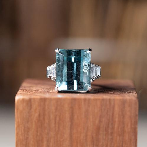 Aquamarine Ring 19.7ct
