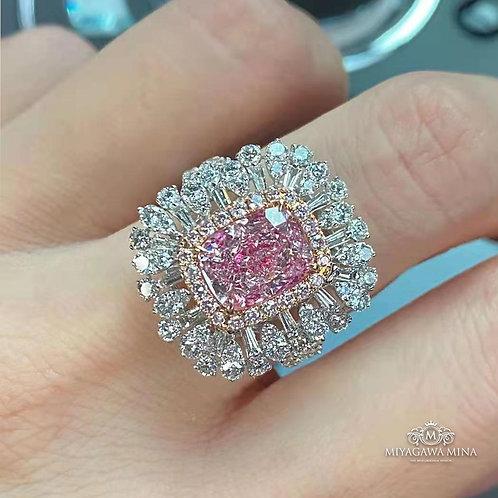 (Ask Price) GIA Pink Diamond Ring 3.0ct