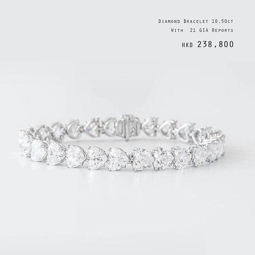 Diamond Bracelet 10.5ct