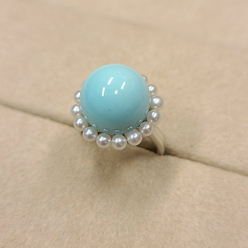Turquoise Ring 12.9mm