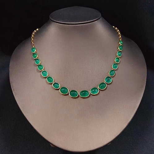 Emerald Necklace 39.60ct