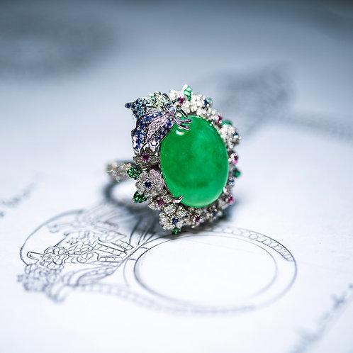 代客設計鑲嵌款戒指