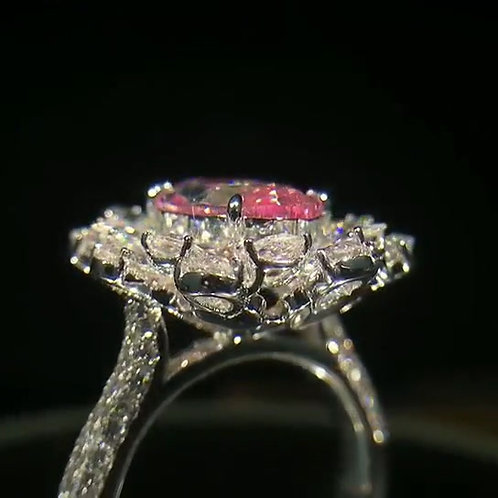 (Ask Price) GIA Pink Diamond Ring 3.01ct