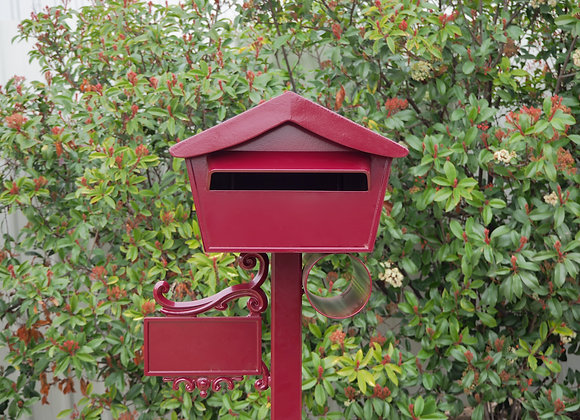 Federation Red Kooyonga Letterbox front on