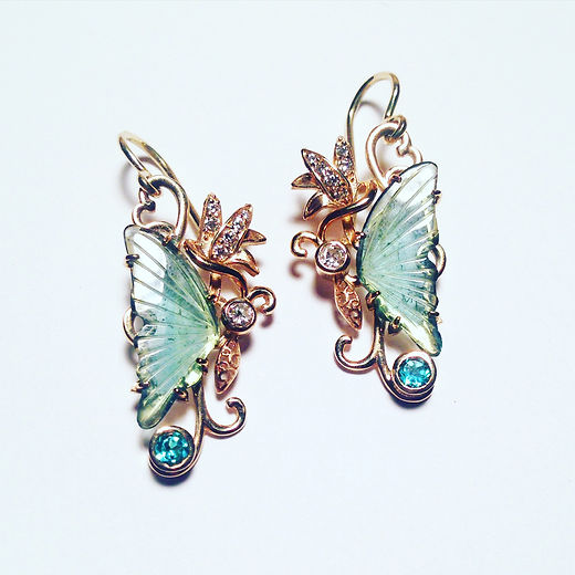 Tourmaline_Butterfly_Earrings_sashabravo