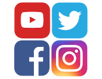 youtube-twitter-facebook-and-instagram-i