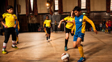 Futsal tournament in the town hall