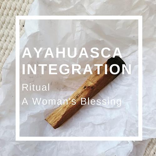 Ayahuasca Integration Ritual