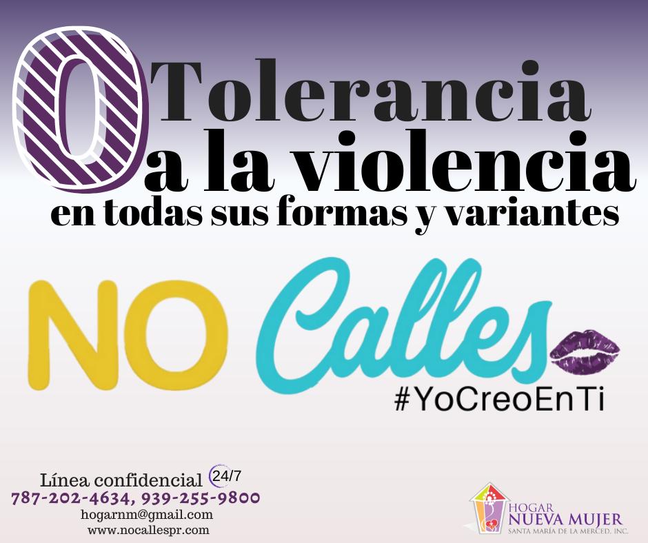 cero tolerancia