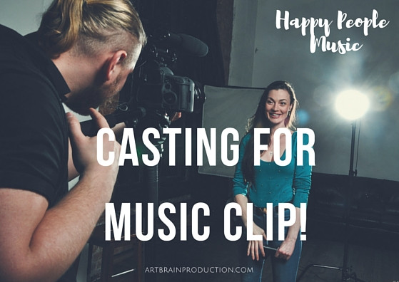 Кастинг для видеосъемок музыкального клипа