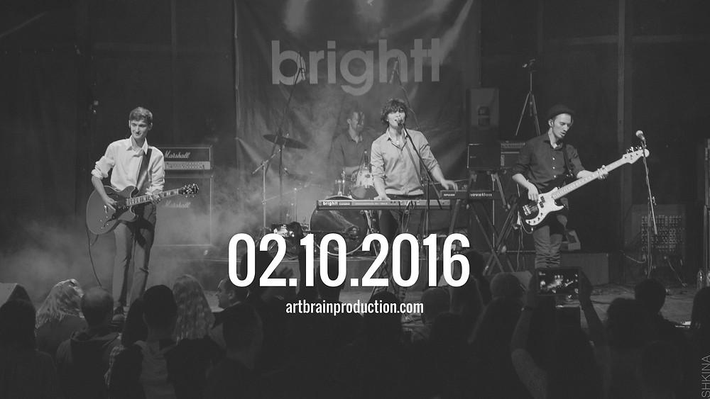 Видеосъемка концерта brightt, Санкт-Петербург, клуб Jagger