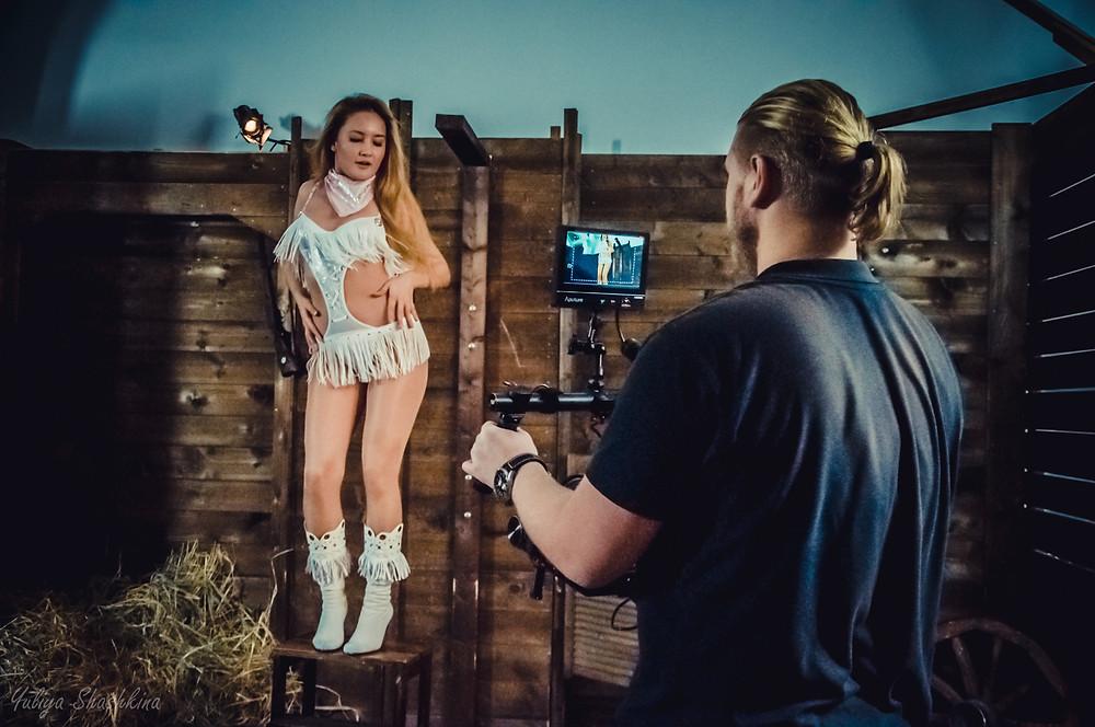 Видеосъемка танцевального промо-клипа