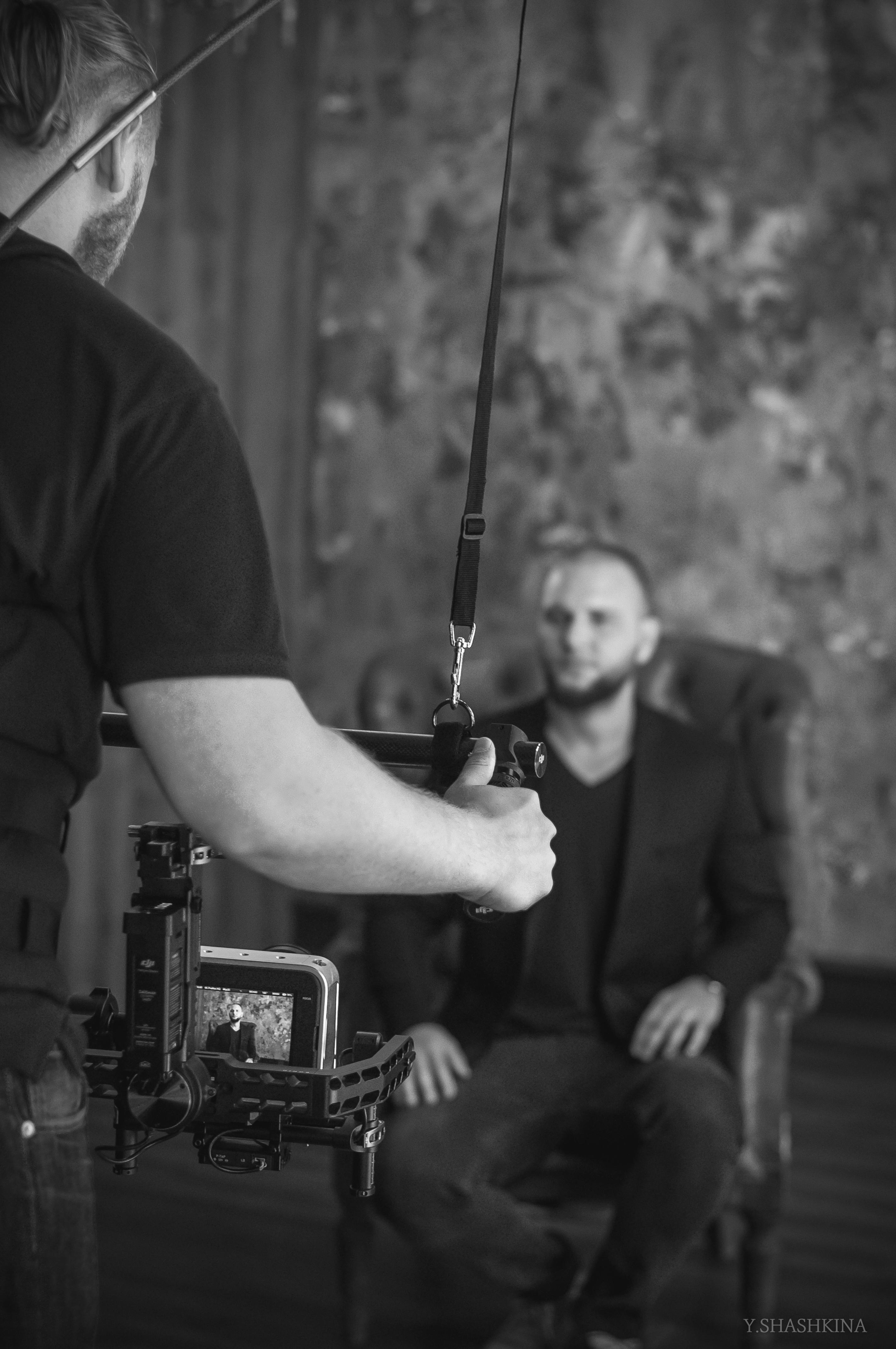 Видеосъемка клипа СПб