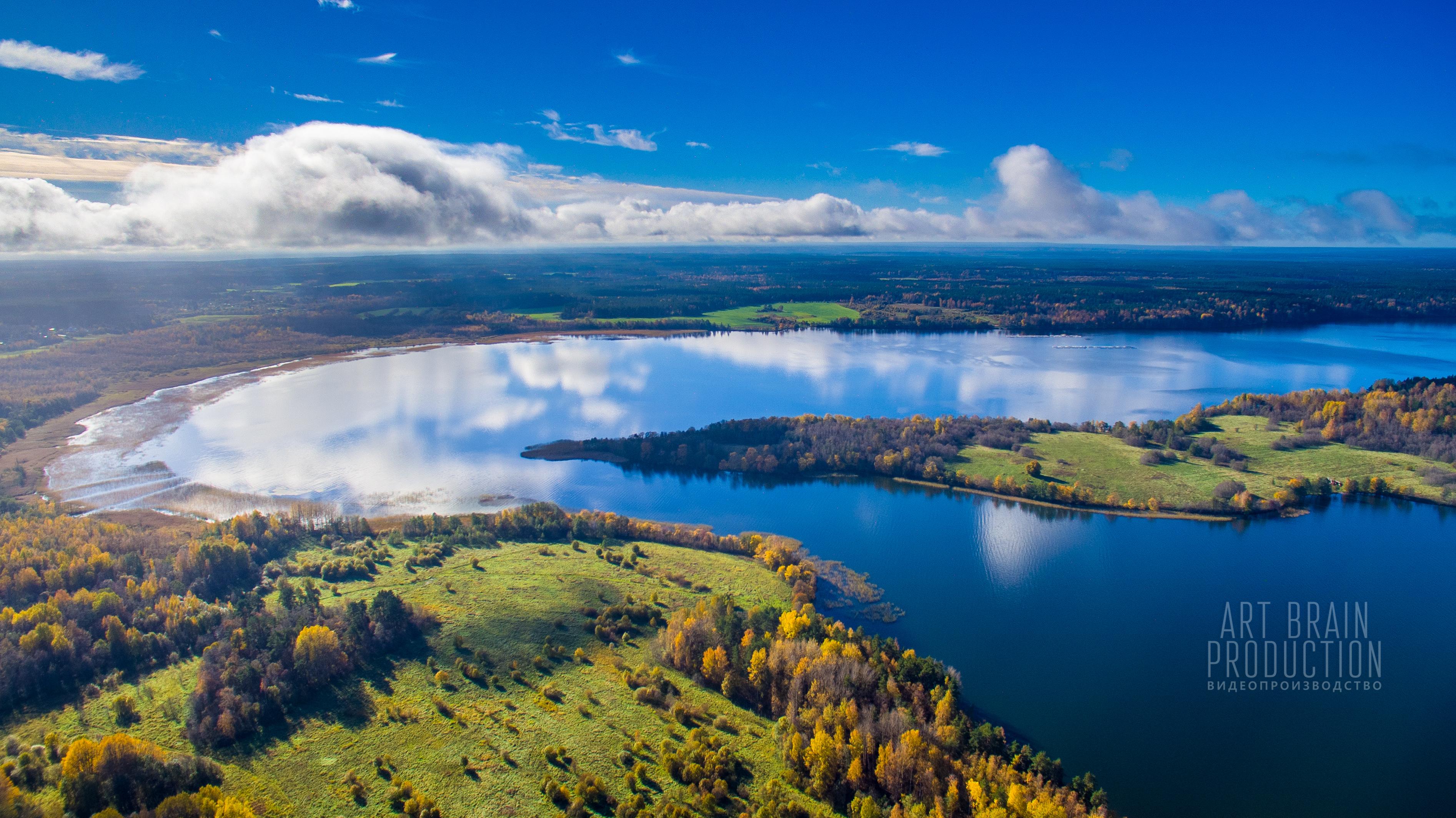 Красивые места СПб видеосъемка 4К