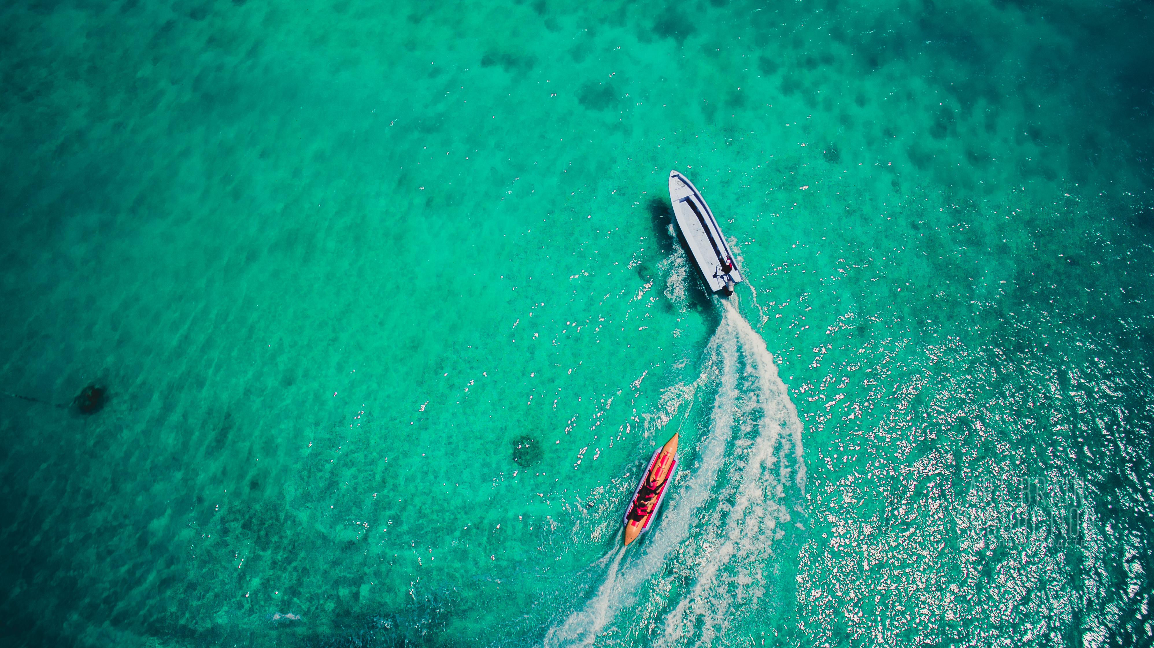 Аэросъемка в Доминикане.
