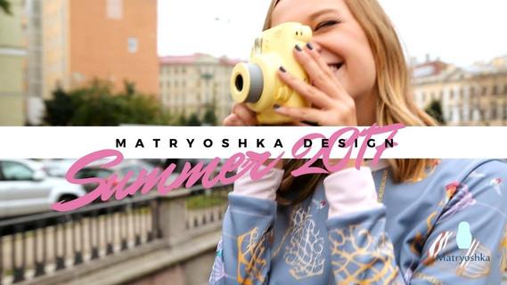 Видеосъёмка рекламного ролика для Matryoshka.