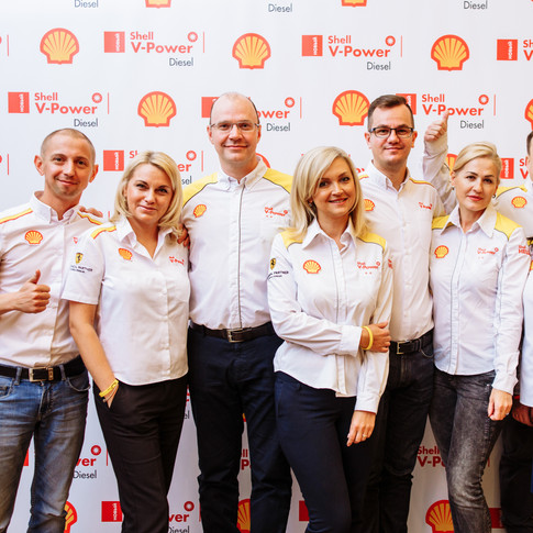 Видеосъемка и фотосъемка презентации нового дизельного топлива Shell V-Power.