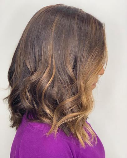 Hair Styling and Highlights