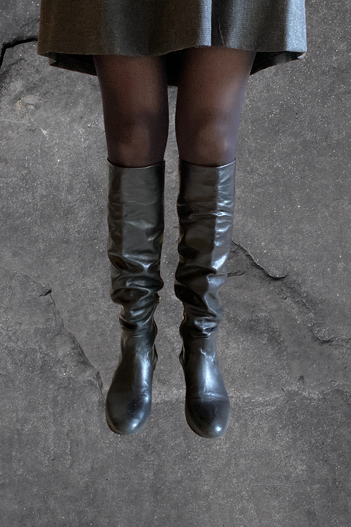 Prada Slouch Boots