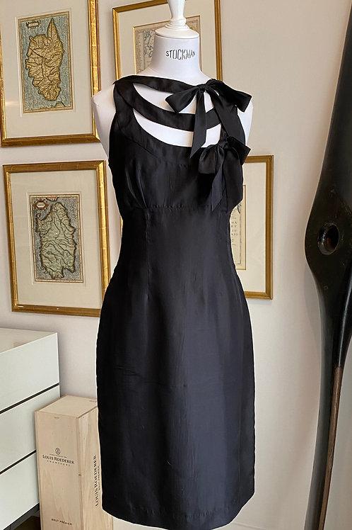Paul Smith Bow-Detail Silk Dress