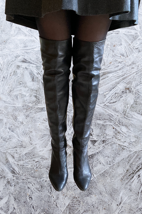 Michel Perry Thigh High Boots