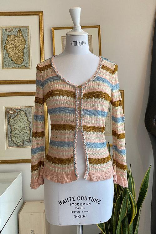 Christian Lacroix Bazar Crochet Top