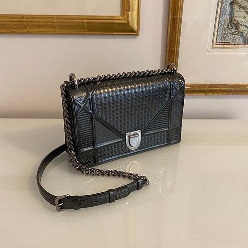 Diorama Gunmetal Shoulder Bag