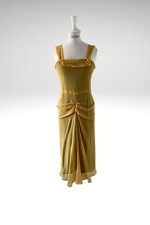 Roland Muret Ruched Garden Dress