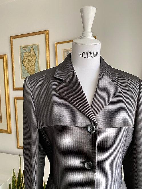 Byblos Gunmetal Skirt Suit