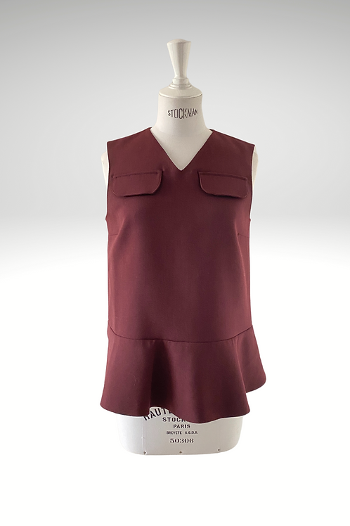 Marni Burgundy Top