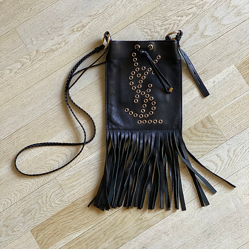 YSL Cross Body Fringe Bag