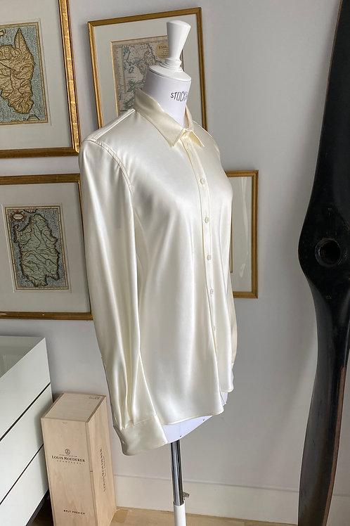 Joseph Ivory Silk Shirt