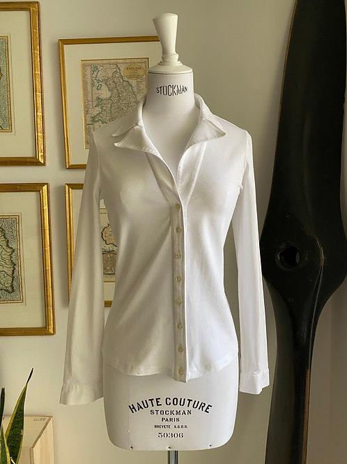 Anne Fontaine White Natanya Shirt