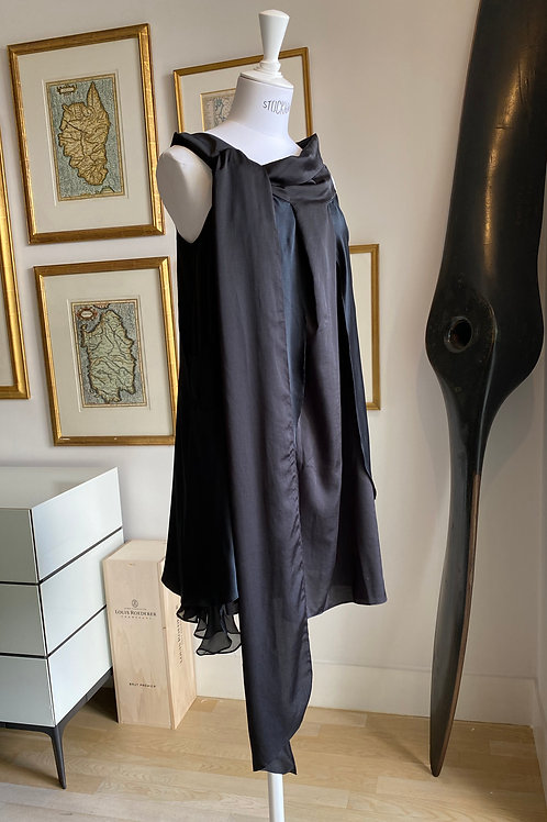 Vanessa Bruno Asymmetrical Layered Dress