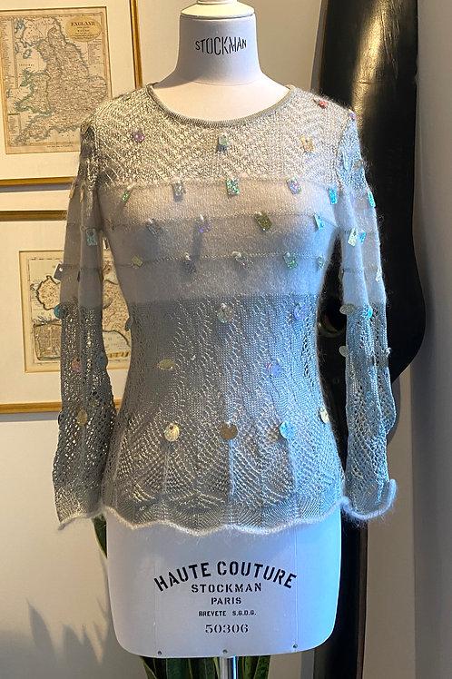 Christian Lacroix Pearl GreySweater