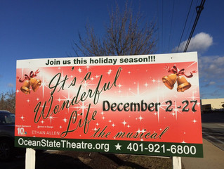 It's a Wonderful Life at Ocean State Theatre Company, RI
