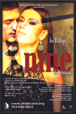 NINE the Musical at AFD Theatre, MA