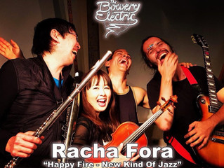 Racha Fora at Bowery Electric NYC