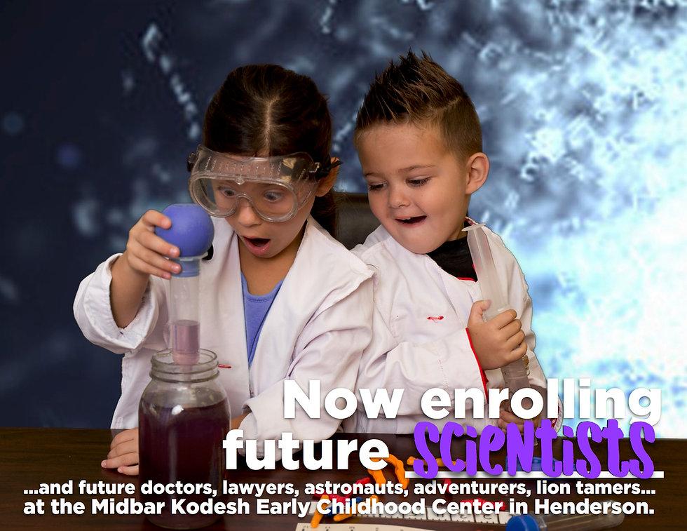 Preschool Age Children Learning Science at School