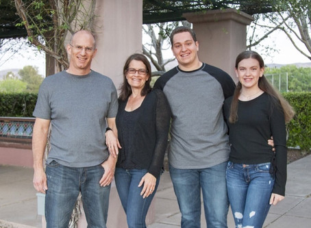 The Broth Family have been members of Midbar Kodesh Temple for 14 years.