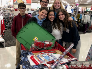 Midbar Kodesh Temple's Sr. USYers participated in the Children's Heart Foundation