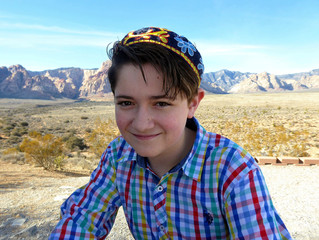 Bennett Warnick to be called to the Torah as a bar mitzvah at Midbar Kodesh Temple