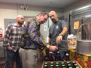 "Midbar Kodesh Temple hosts the ""Art of Brewing Beer"" with Mike Murdoch"