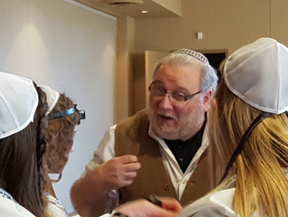 Midbar Kodesh Temple's Cantor Daniel Gale will receive aMaster's Degree in Jewish Education fro