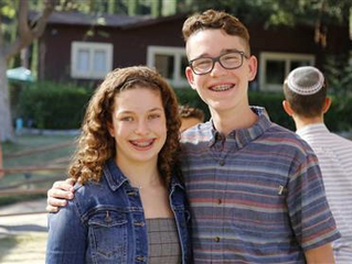 Midbar Kodesh Temple students go to camp!