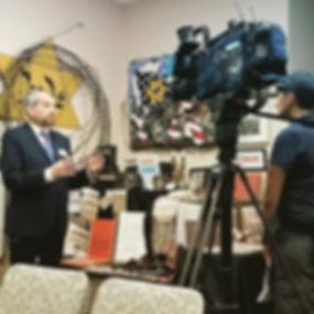 Rabbi Tecktiel interview with Channel 13